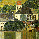 Gustav Klimt Church at Unterach on the Attersee 1916