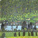 Gustav Klimt Forest Slope in Unterach on the Attersee 1916