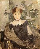 Berthe Morisot Woman in Black 1878