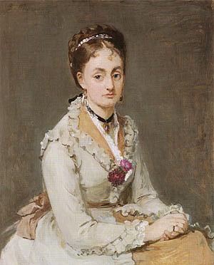 Berthe Morisot Portrait of Edma 1870