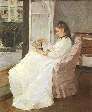 Berthe Morisot The Artists Sister at a Window 1869
