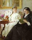 Berthe Morisot The Mother and Sister of the Artist 1869