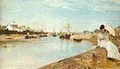 Berthe Morisot The Harbour at Lorient 1869