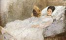 Berthe Morisot Portrait of Mme Hubard 1874