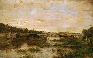 Berthe Morisot The Seine below the Pont d'Lena 1866