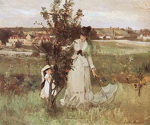 Berthe Morisot Hide and Seek 1873