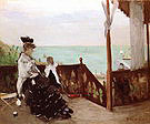 Berthe Morisot In a Villa at the Seaside 1874