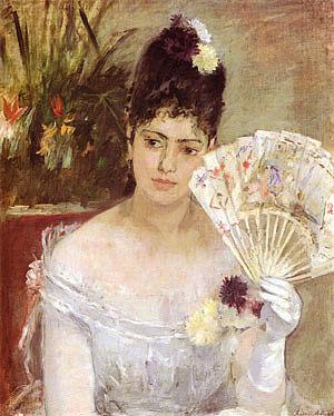 Berthe Morisot At the Ball 1875