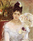 Berthe Morisot At the Ball 1875