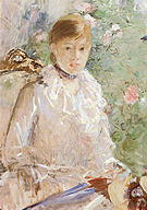 Berthe Morisot Summer (Young Woman by a Window) 1878
