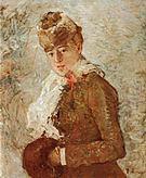 Berthe Morisot Winter (Woman with a Muff) 1880