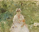 Berthe Morisot The Wet Nurse Angele Feeding Julie Manet 1880