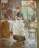 Berthe Morisot In the Dinning Room 1886