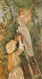 Berthe Morisot The Cherry Tree 1893