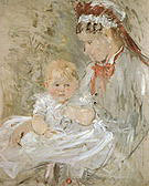Berthe Morisot Julie with her Nurse 1880