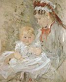 Berthe Morisot Julie with her Nurse 1880