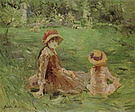 Berthe Morisot In the Garden at Maurecourt 1884