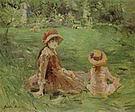 Berthe Morisot In the Garden at Maurecourt 1884
