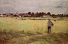 Berthe Morisot In the Wheatfield 1875