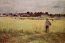 Berthe Morisot In the Wheatfield 1875