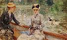 Berthe Morisot A Summers Day 1879