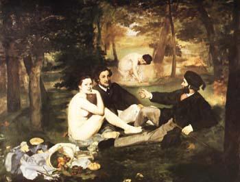 Edouard Manet Le Dejeuner sur l'Herbe