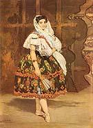 Edouard Manet Lola de Valence 1862