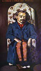 Paul Cezanne Portrait of Archille Emperaire 1868