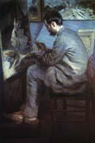 Pierre Auguste Renoir Portrait of Frederic Bazille 1867