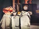 Paul Cezanne Black Clock 1869