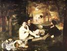 Edouard Manet La Dejeuner sur l'Herbe