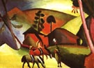 August Macke Indians on Horses 1911