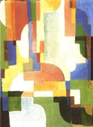 August Macke Coloured Forms I 1913