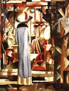 August Macke Large Bright Shop Window 1912