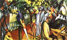 August Macke Zoological Garden I 1912