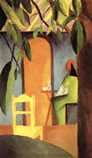 August Macke Turkish Cafe II 1914