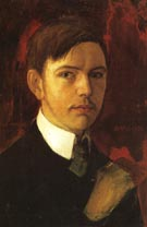 August Macke Self Portrait 1906