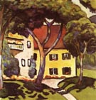 August Macke Staudachers House at Tegernsee 1910