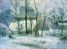 Paul Gauguin Garden under Snow