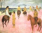 Paul Gauguin Riders on the Beach
