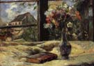 Paul Gauguin Vase of Flowers at the Window