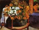 Paul Gauguin Sunflowers on a Chair