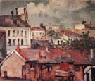 Paul Cezanne Houses (Roofs)