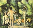 Paul Cezanne Five Bathers