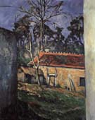 Paul Cezanne Courtyard of the Farm at Auvers