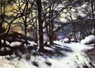 Paul Cezanne Melting Snow at Fontainebleau