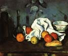 Paul Cezanne Containers, Fruit, Dishcloth