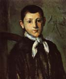 Paul Cezanne Portrait of Louis Guillaume