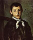 Paul Cezanne Portrait of Louis Guillaume