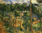 Paul Cezanne L'Estaque Seen from the Pines